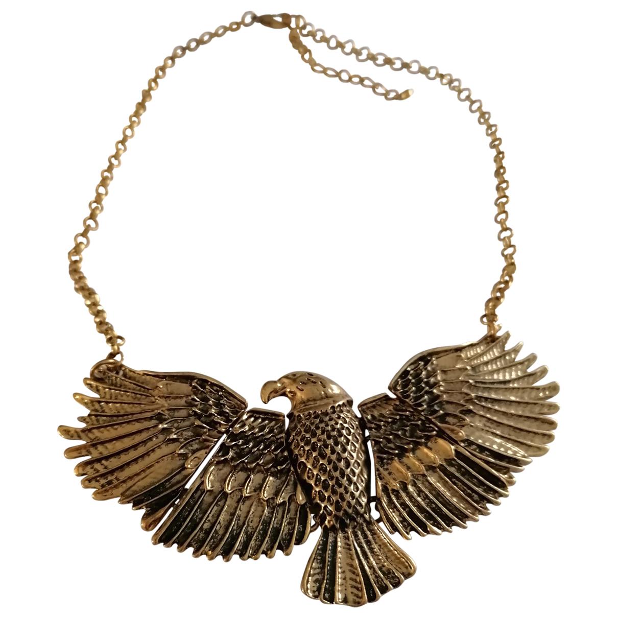 - Collier Motifs Animaliers pour femme en metal - dore