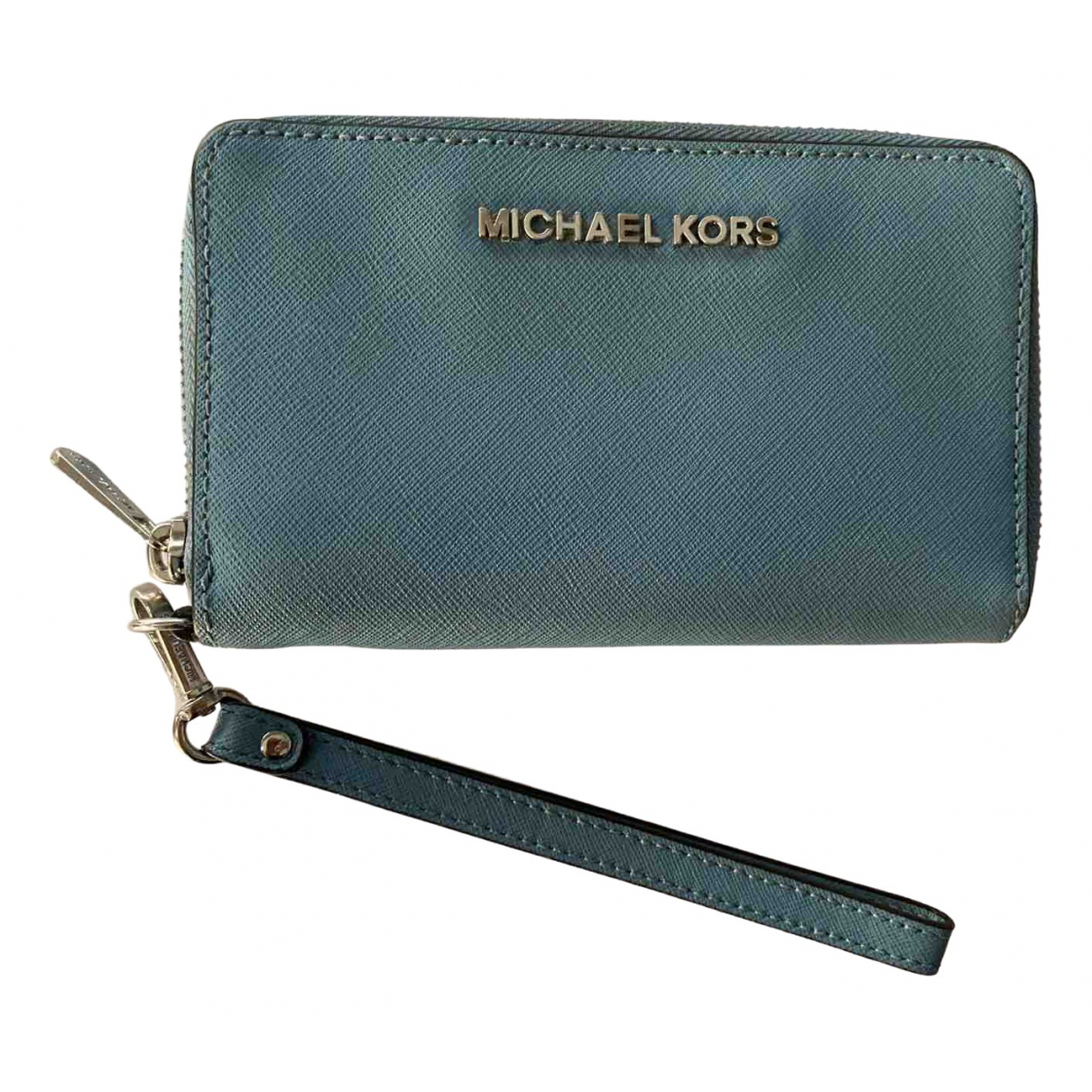 Michael Kors \N Turquoise Leather wallet for Women \N
