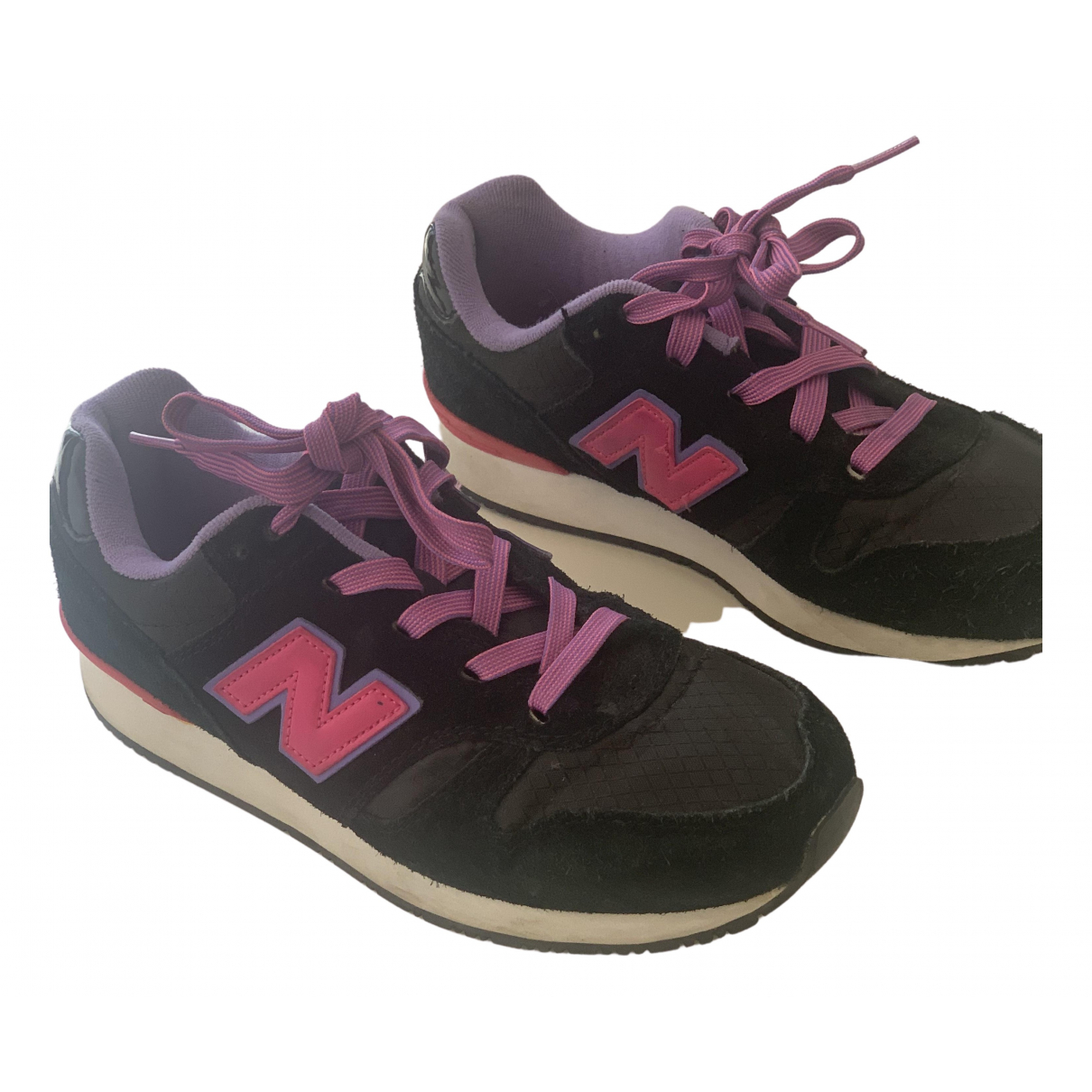 New Balance N Black Suede Trainers for Women 37 EU