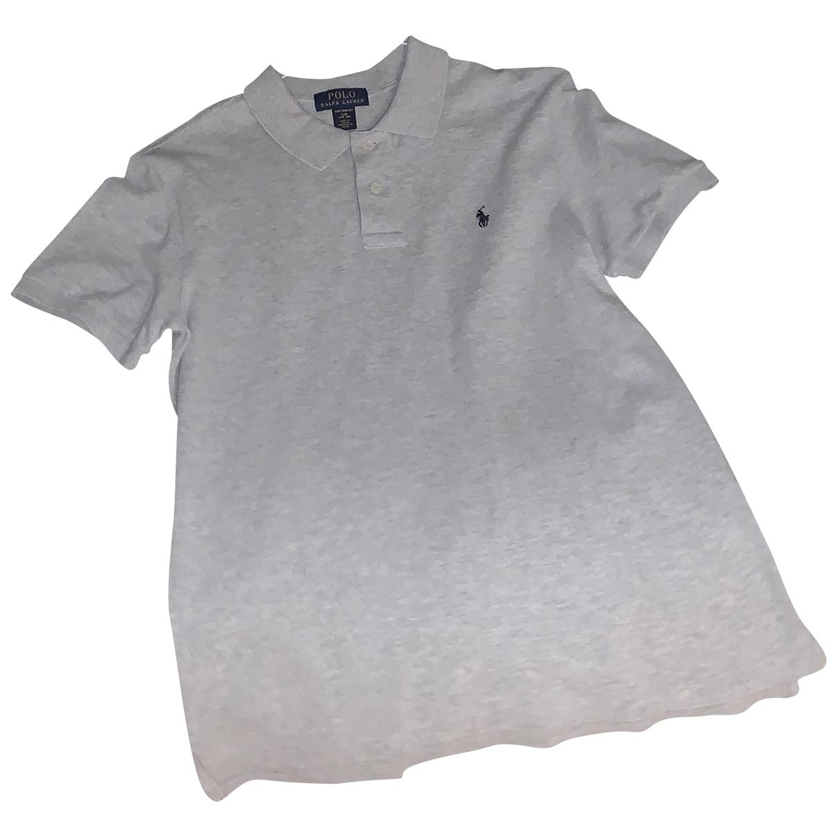 Polo Ralph Lauren \N Grey Cotton  top for Kids 14 years - S UK