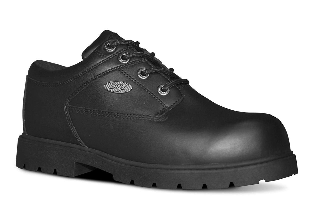Men's Savoy SR Oxford Boot (Choose Your Color: BLACK, Choose Your Size: 10.5)