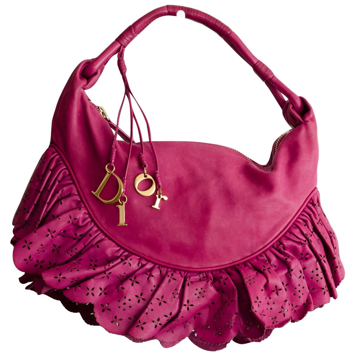 Dior \N Pink Leather handbag for Women \N