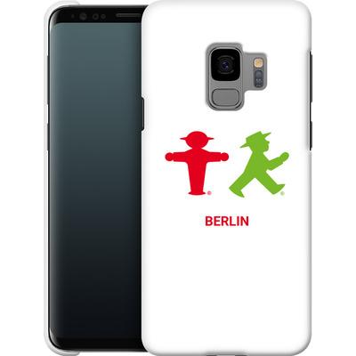 Samsung Galaxy S9 Smartphone Huelle - Green and Red von AMPELMANN