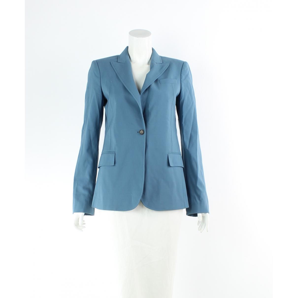 Gucci \N Blue Wool jacket for Women 8 UK