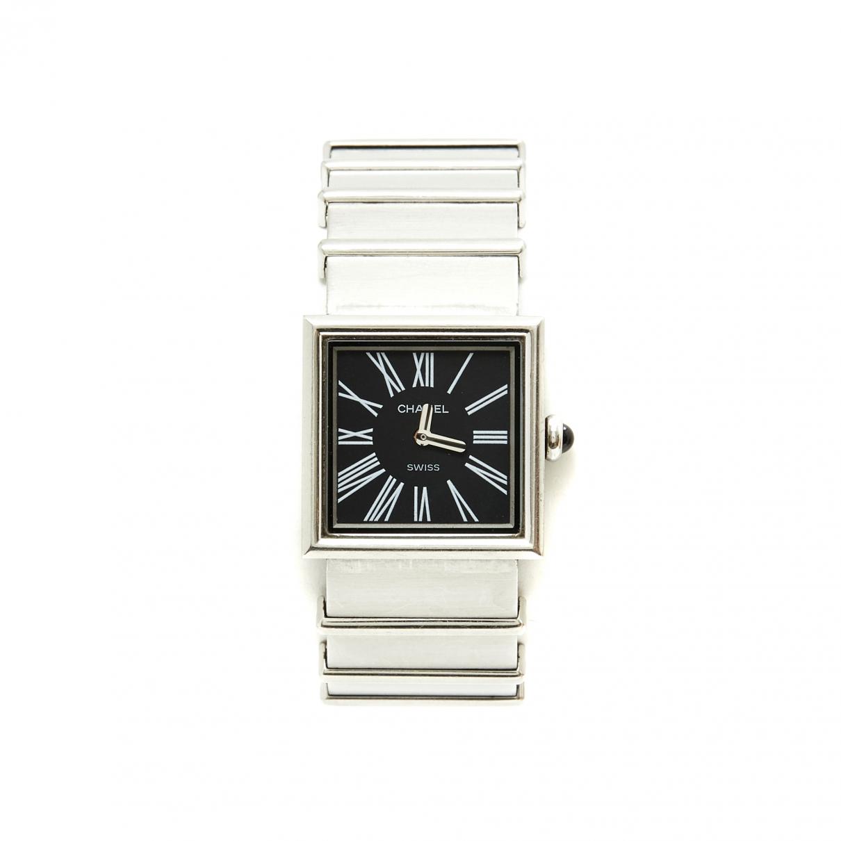 Chanel Mademoiselle Uhr in  Silber Stahl