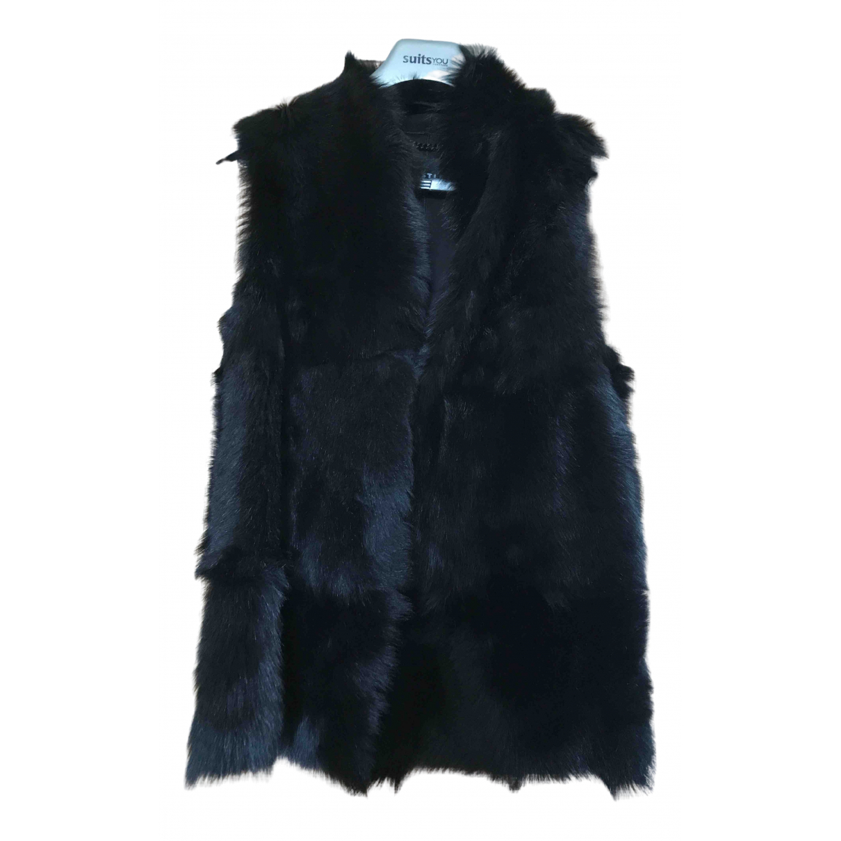 Whistles \N Black Faux fur jacket for Women M International