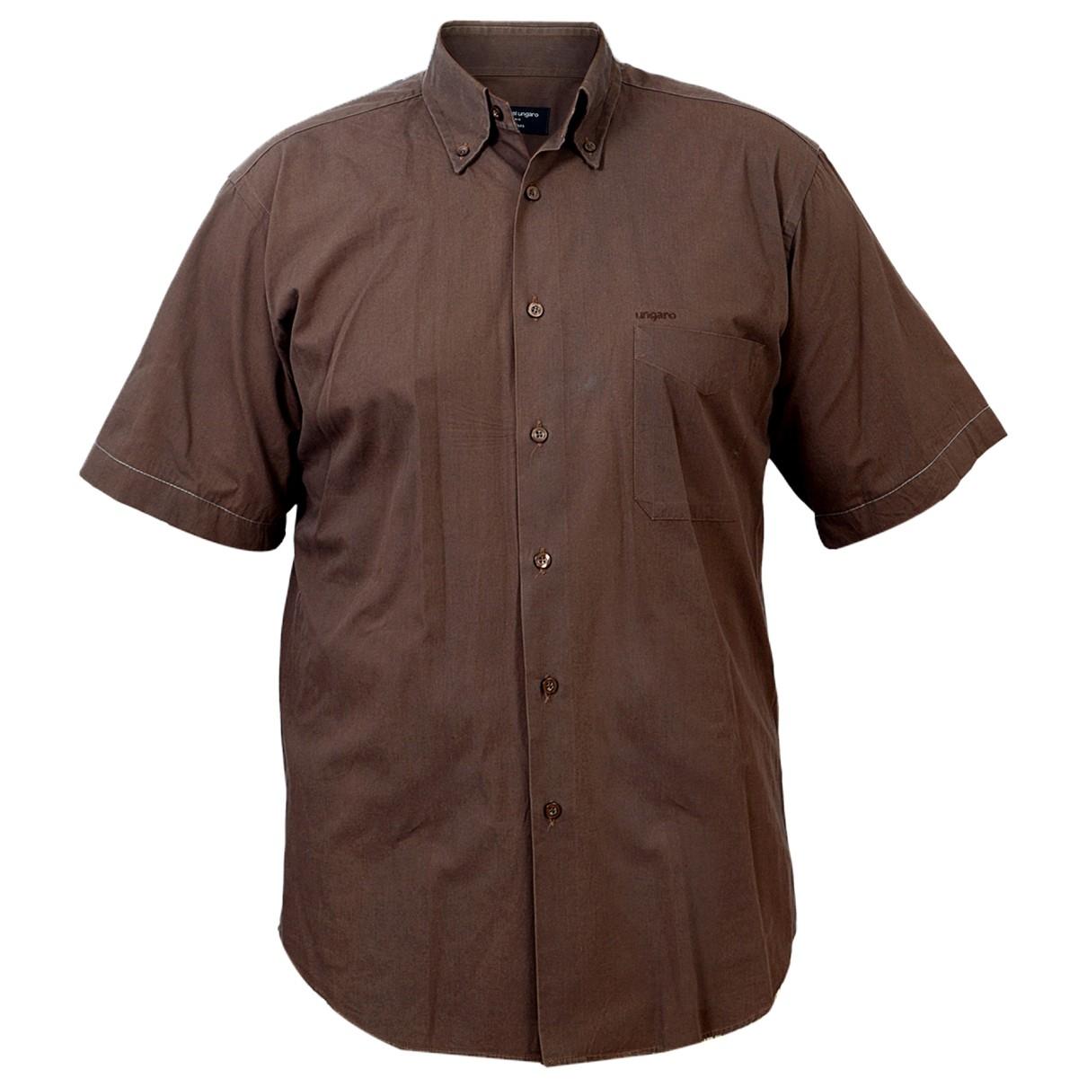 Emanuel Ungaro - Chemises   pour homme en coton - marron