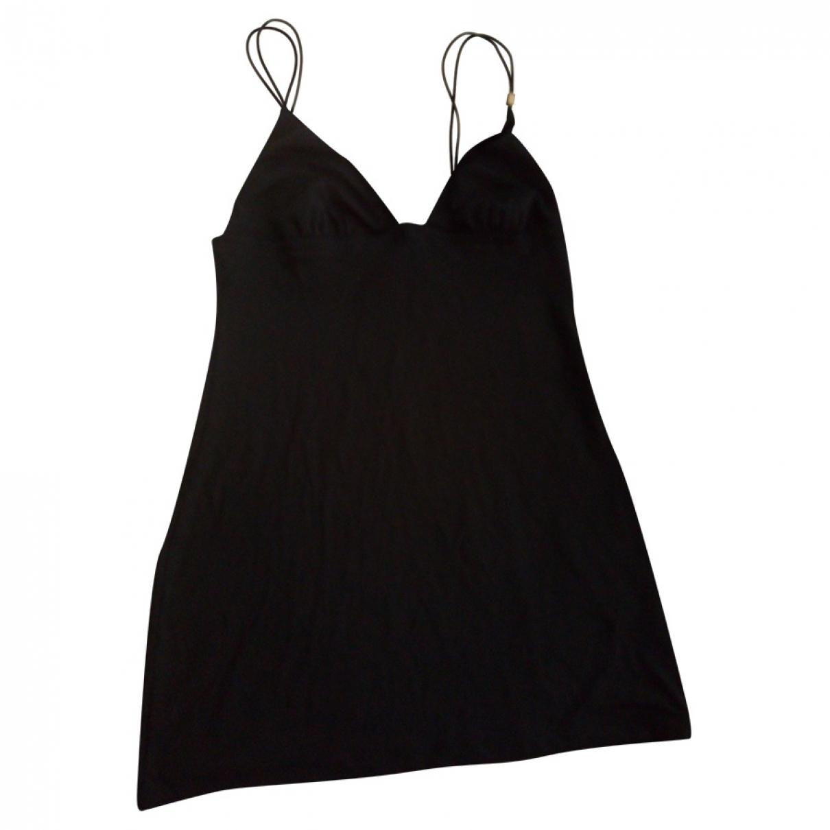La Perla - Robe   pour femme en coton - elasthane - noir