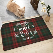 Weihnachten Karomuster Bodenmatte
