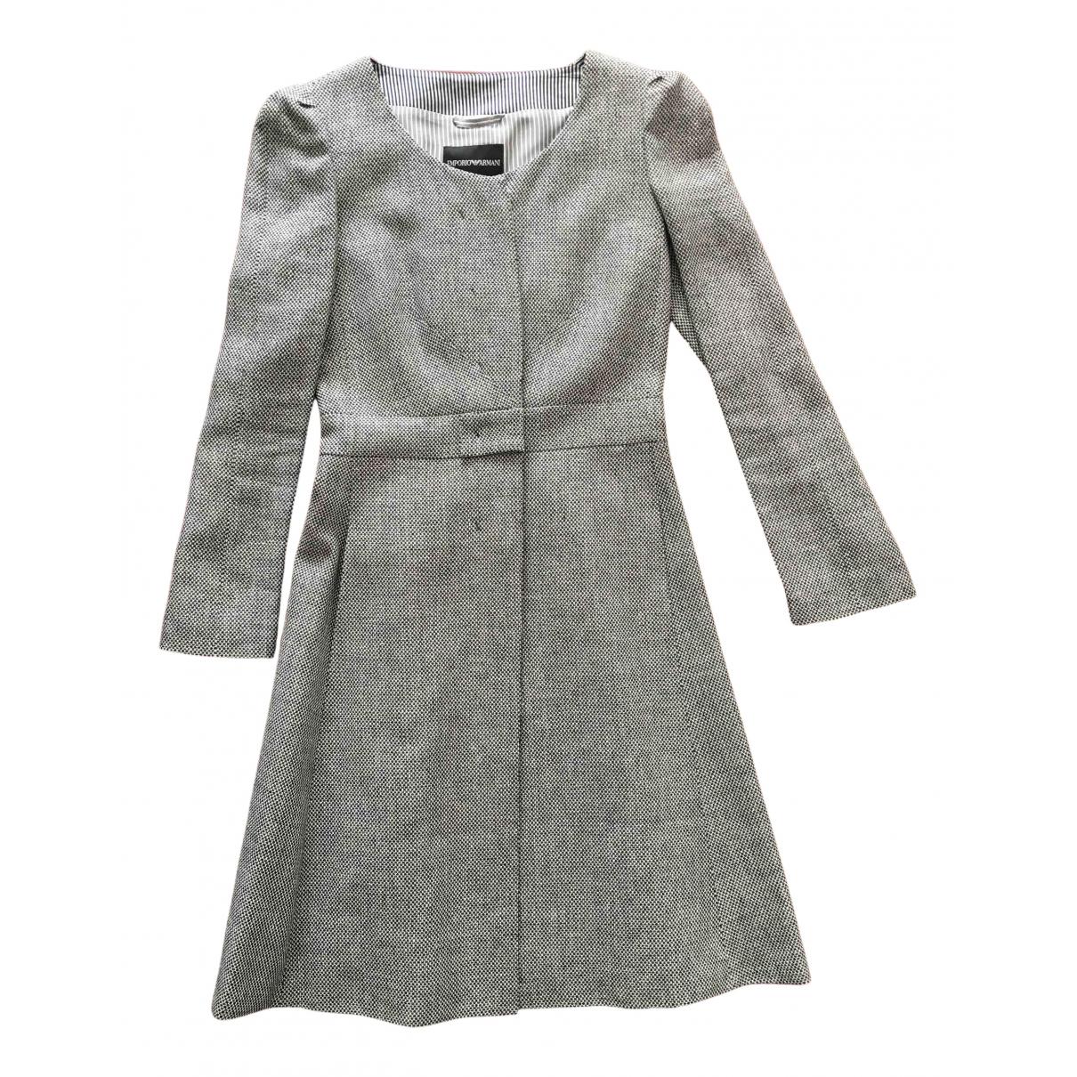 Emporio Armani \N Kleid in Leinen