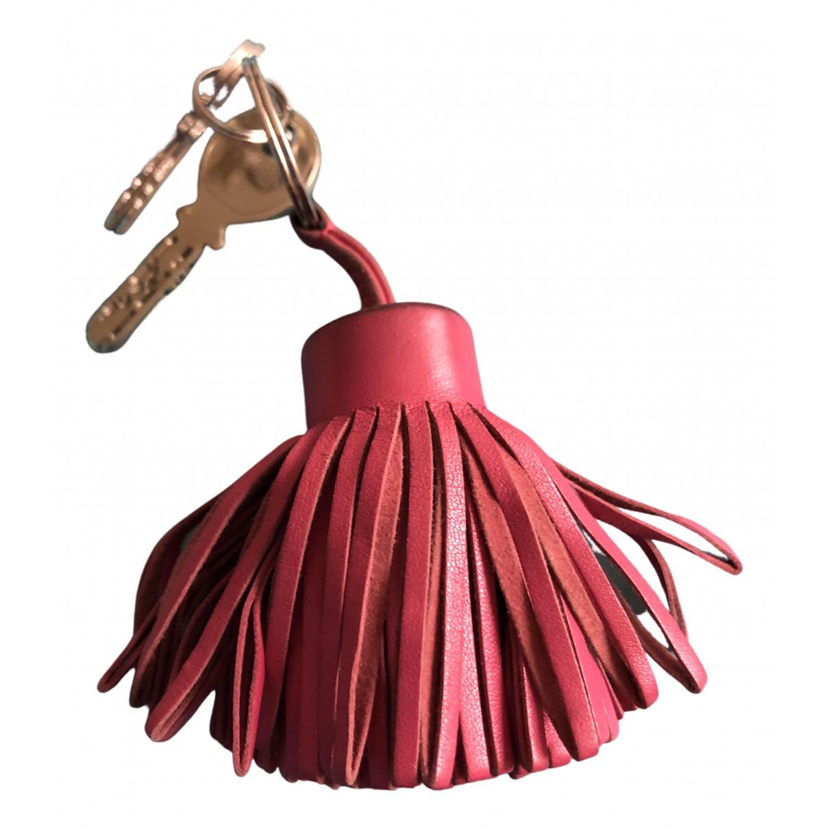 Hermes - Petite maroquinerie Carmen pour femme en cuir - rose