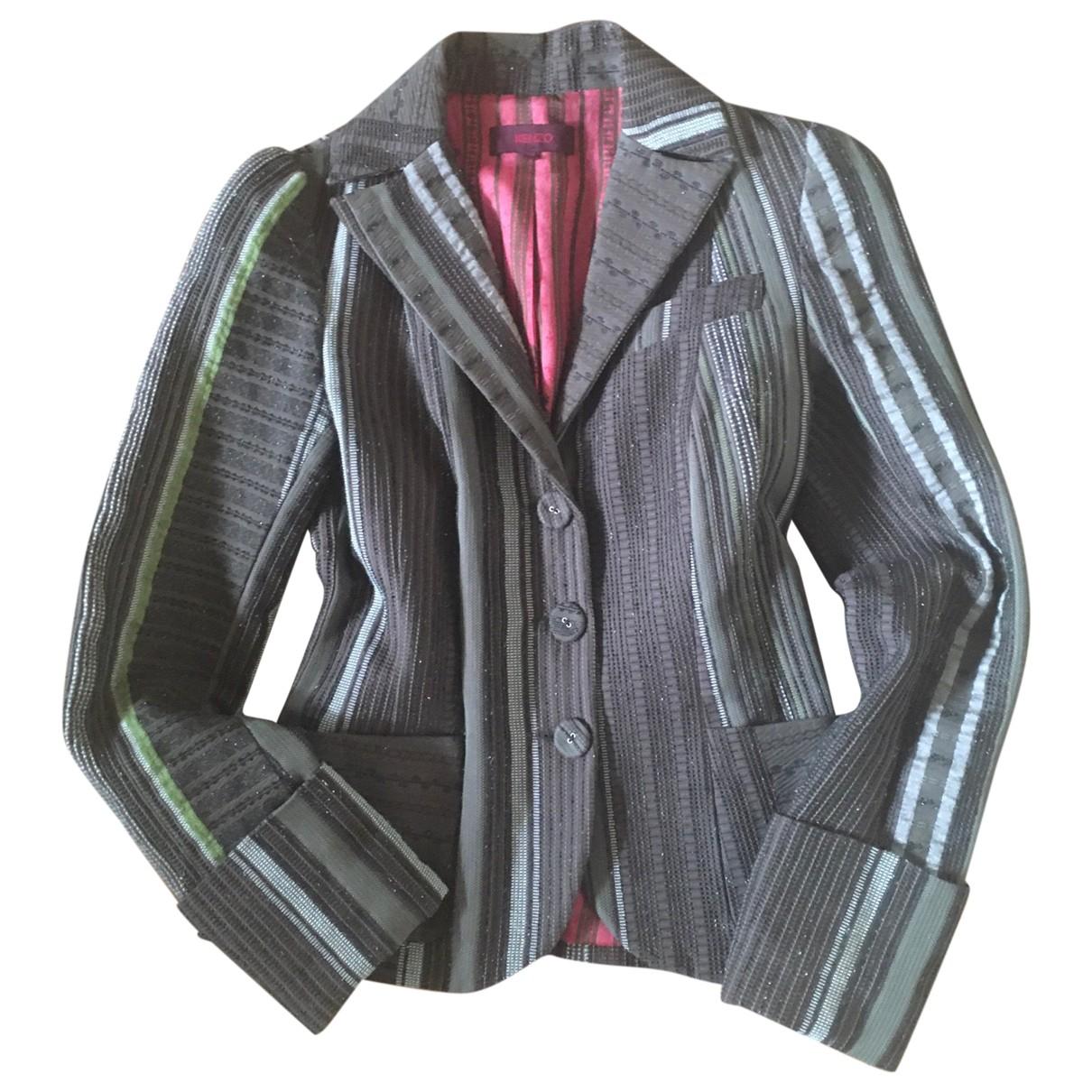 Kenzo \N Brown Cotton jacket for Women 38 IT