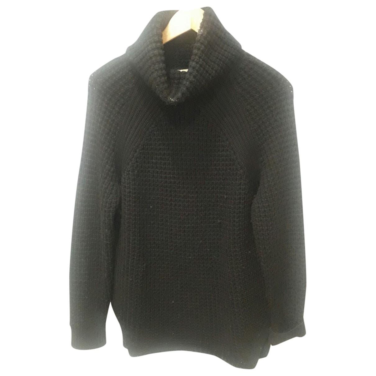Sandro \N Black Cotton Knitwear for Women 40 FR