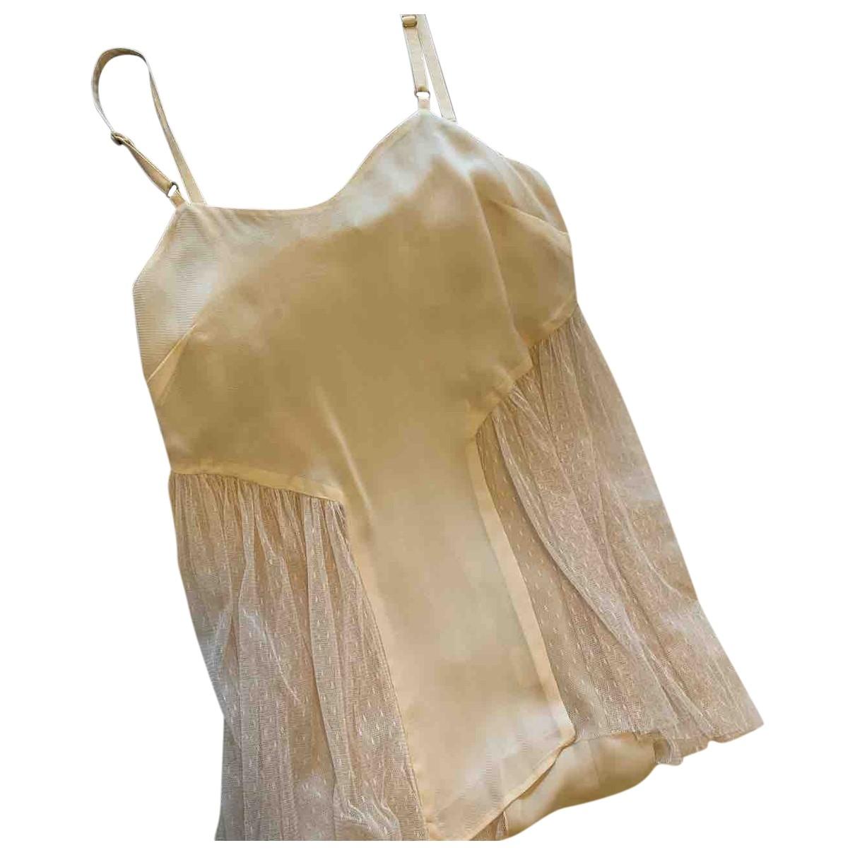 Alice Mccall - Top   pour femme en soie - rose