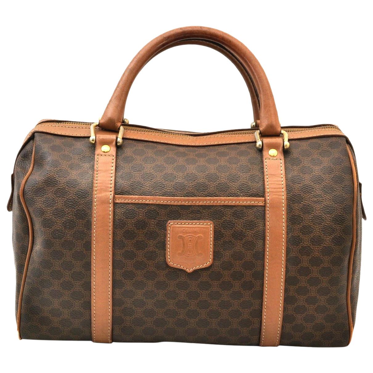 Celine N Brown Leather handbag for Women N
