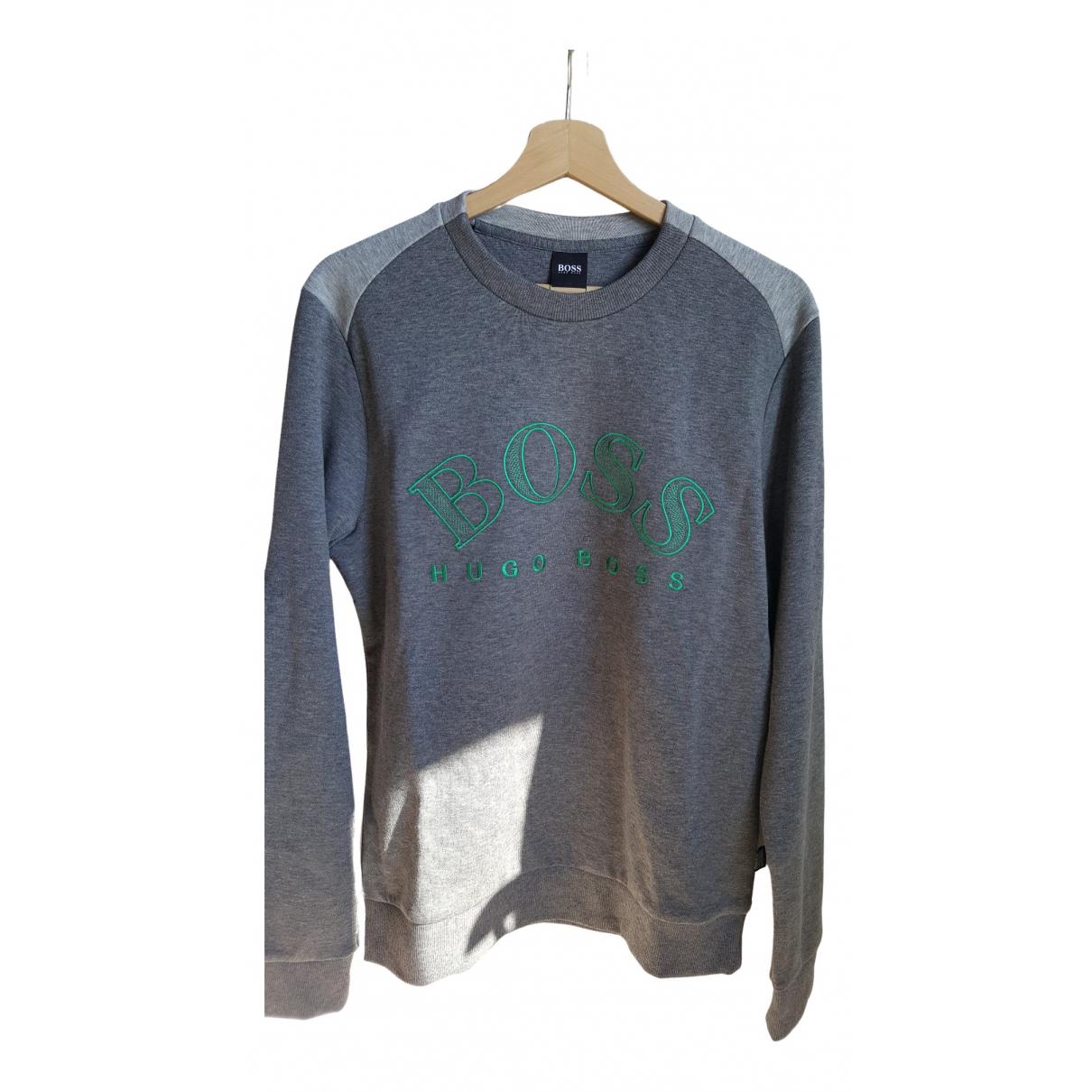 Boss \N Grey Cotton Knitwear & Sweatshirts for Men M International