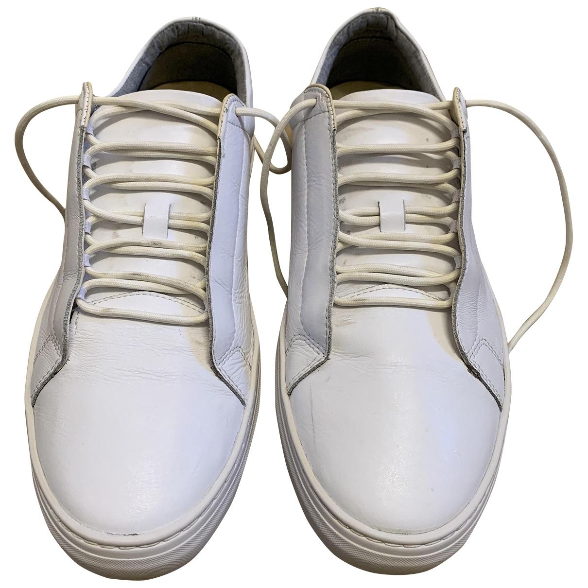 Vagabond \N Sneakers in  Weiss Leder