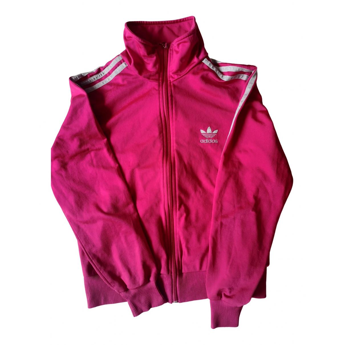 Adidas - Veste   pour femme - rose