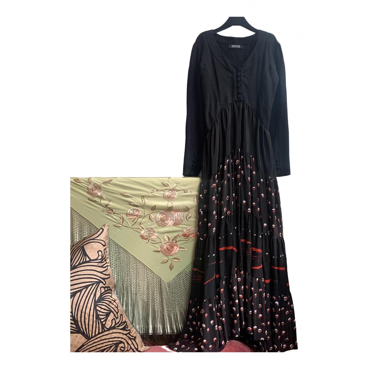 Rockins \N Kleid in  Schwarz Viskose