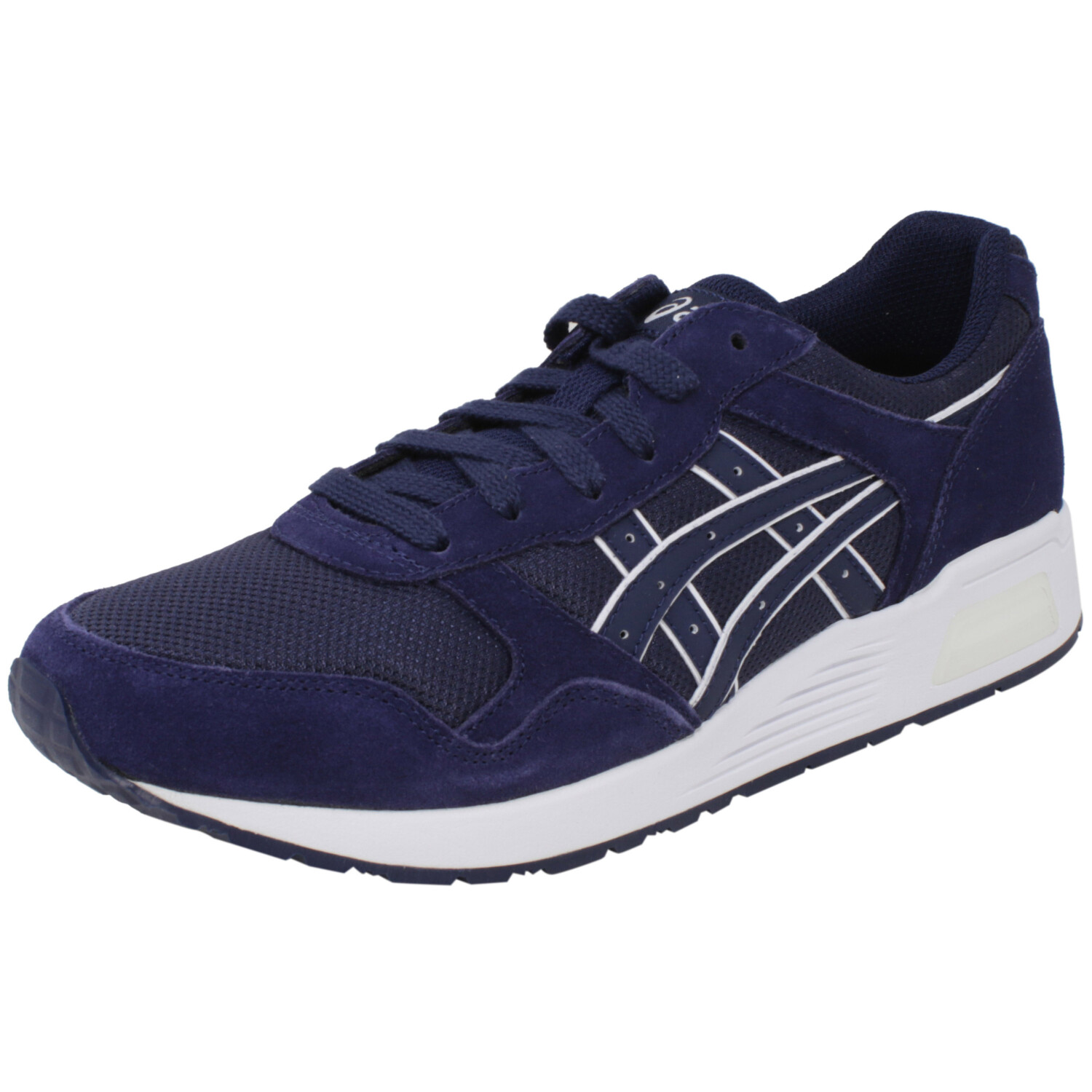 Asics Men's Lyte-Trainer Peacoat / Ankle-High Leather Training Shoes - 10.5M