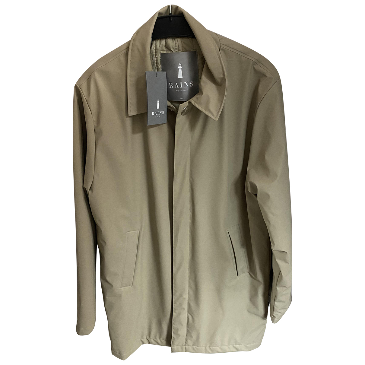 Rains \N Trench in  Beige Polyester