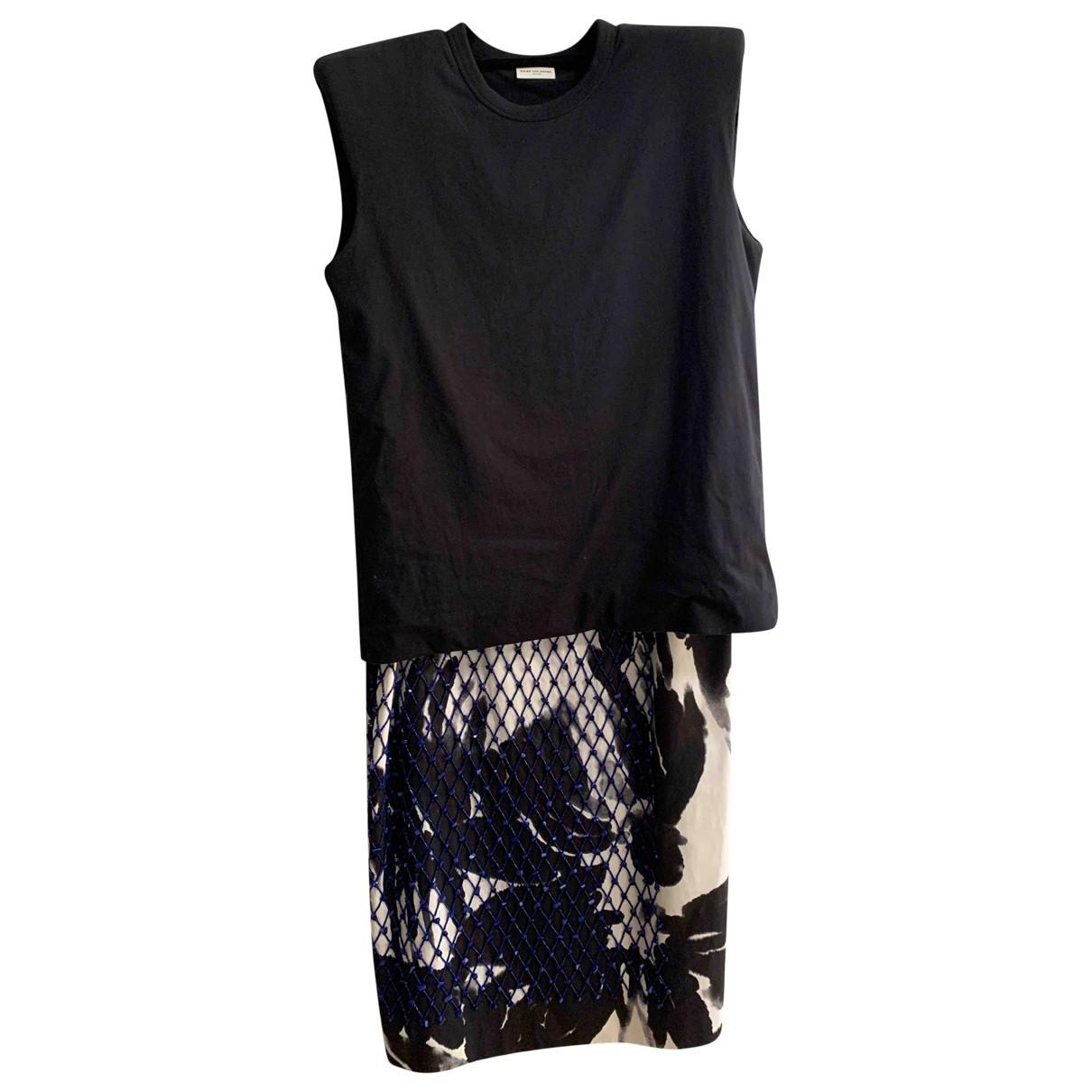 Dries Van Noten \N Black Cotton dress for Women S International