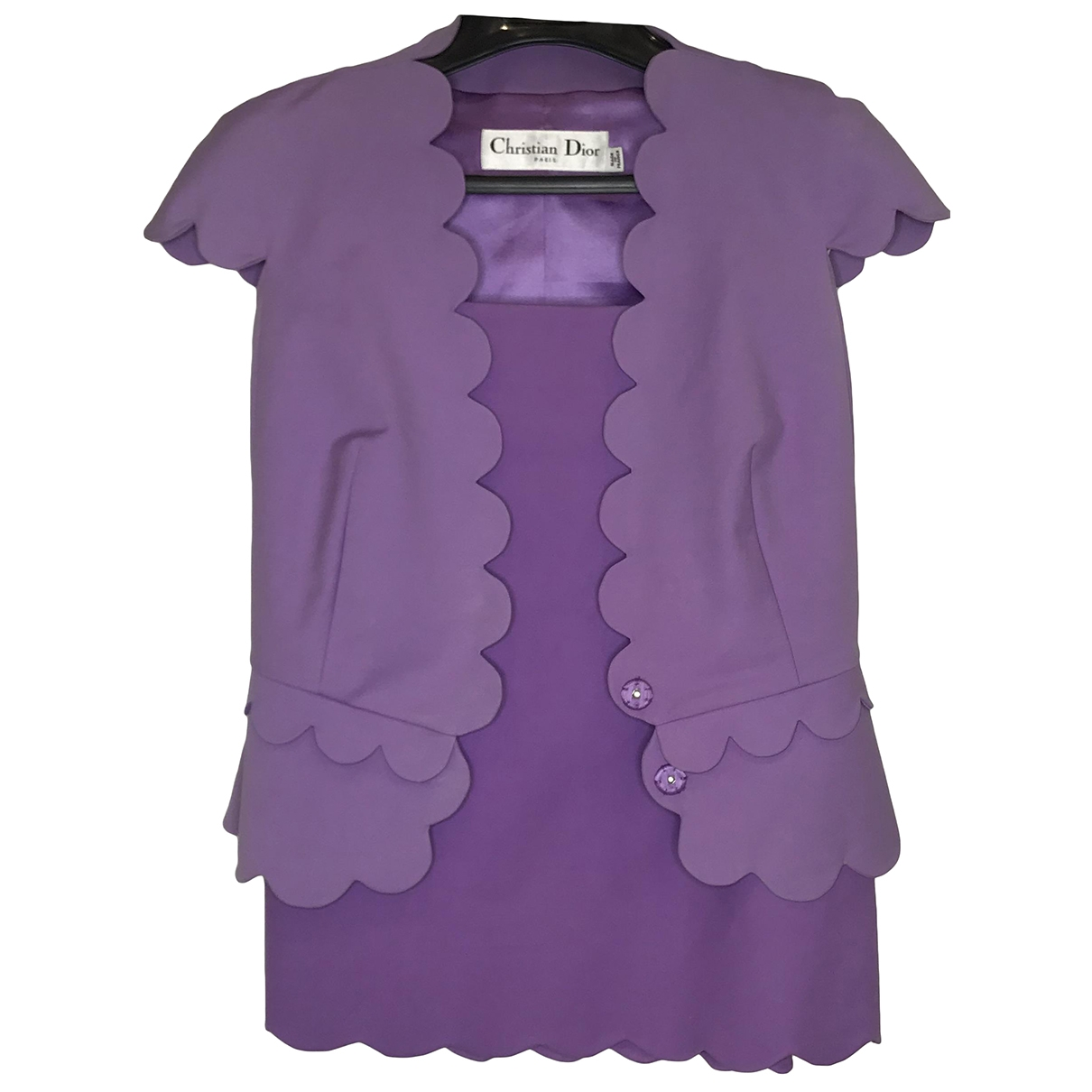 Dior \N Purple Cotton dress for Women 34 FR