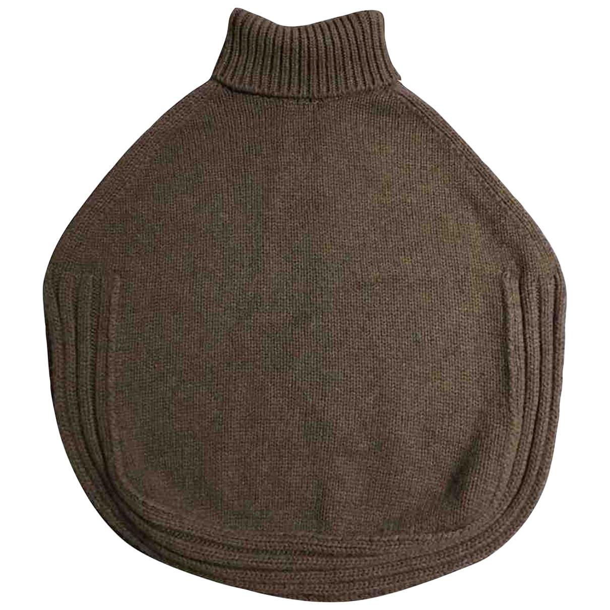 Gucci - Pull   pour femme en laine - marron