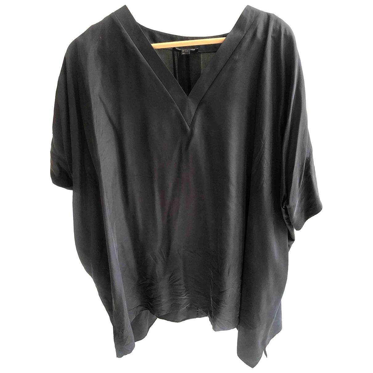 Cos \N Grey Silk  top for Women L International