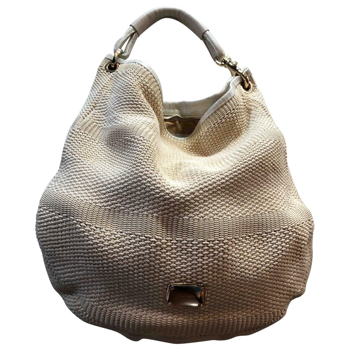 Jimmy Choo \N Beige Cotton handbag for Women \N