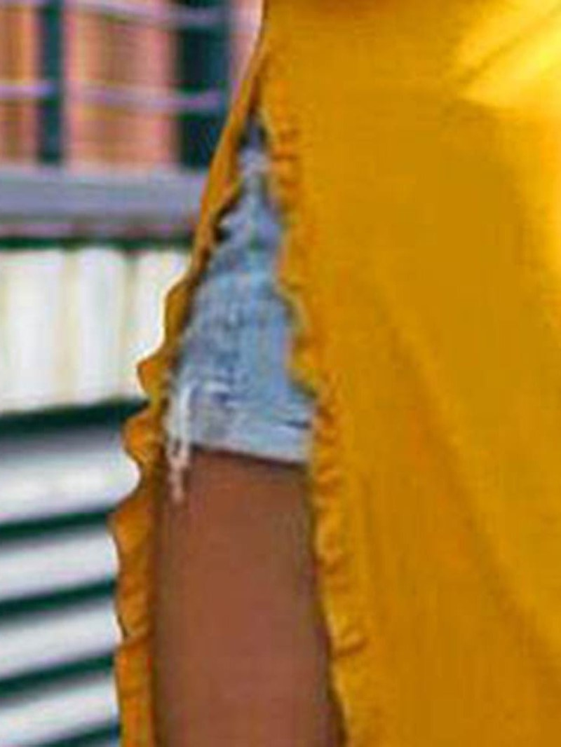 Ericdress Nine Points Sleeve Split Spring Casual Dress