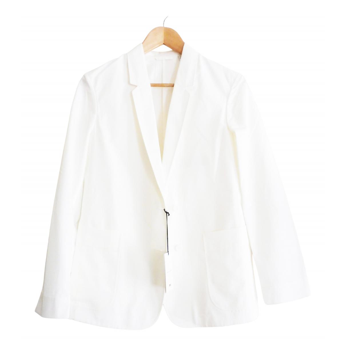 Lemaire X Uniqlo \N Ecru Cotton jacket for Women XS International