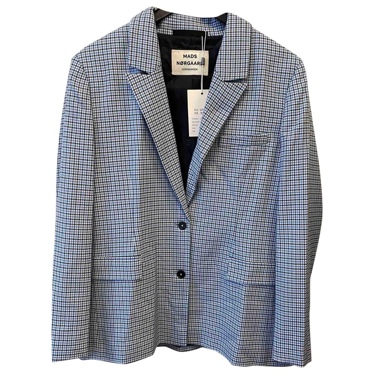 Mads Nørgaard \N Blue Cotton jacket for Women S International