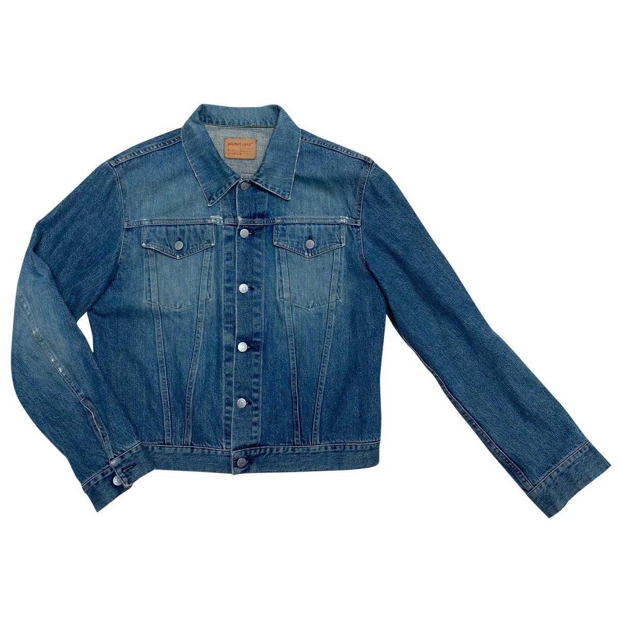 Helmut Lang \N Jacke in  Blau Denim - Jeans