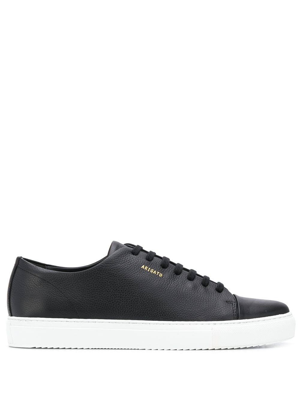 Cap-toe Leather Sneakers