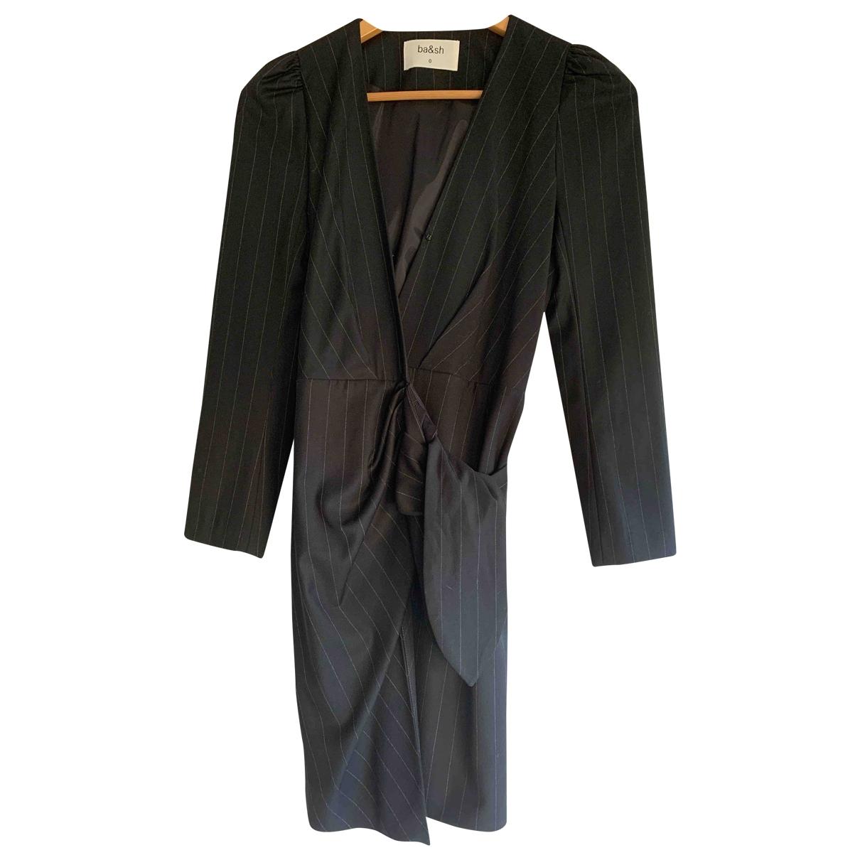 Ba&sh Fall Winter 2019 Anthracite dress for Women 36 FR