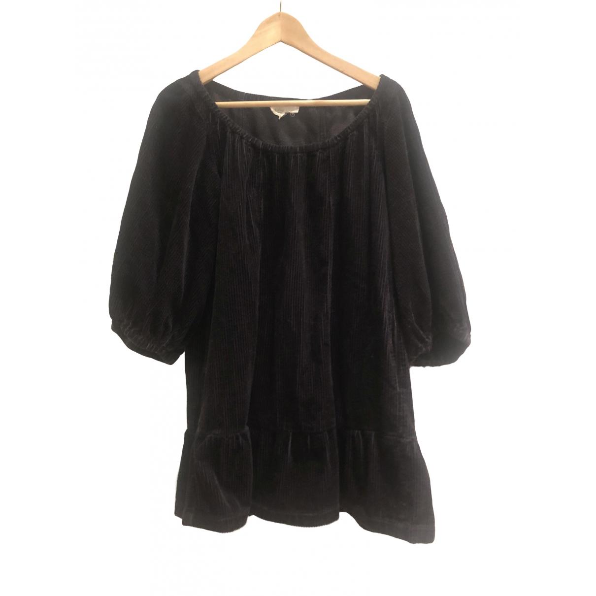 Isabel Marant Etoile - Top   pour femme en velours - noir