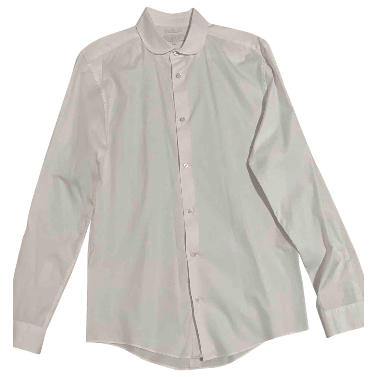 Cos - Chemises   pour homme en coton - blanc