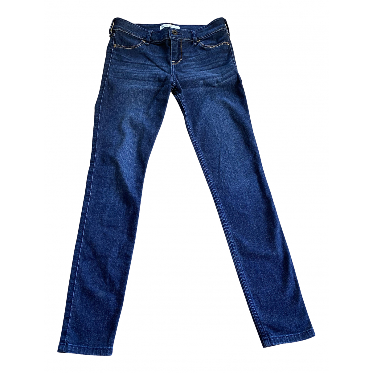 Abercrombie & Fitch - Pantalon   pour enfant en denim - bleu