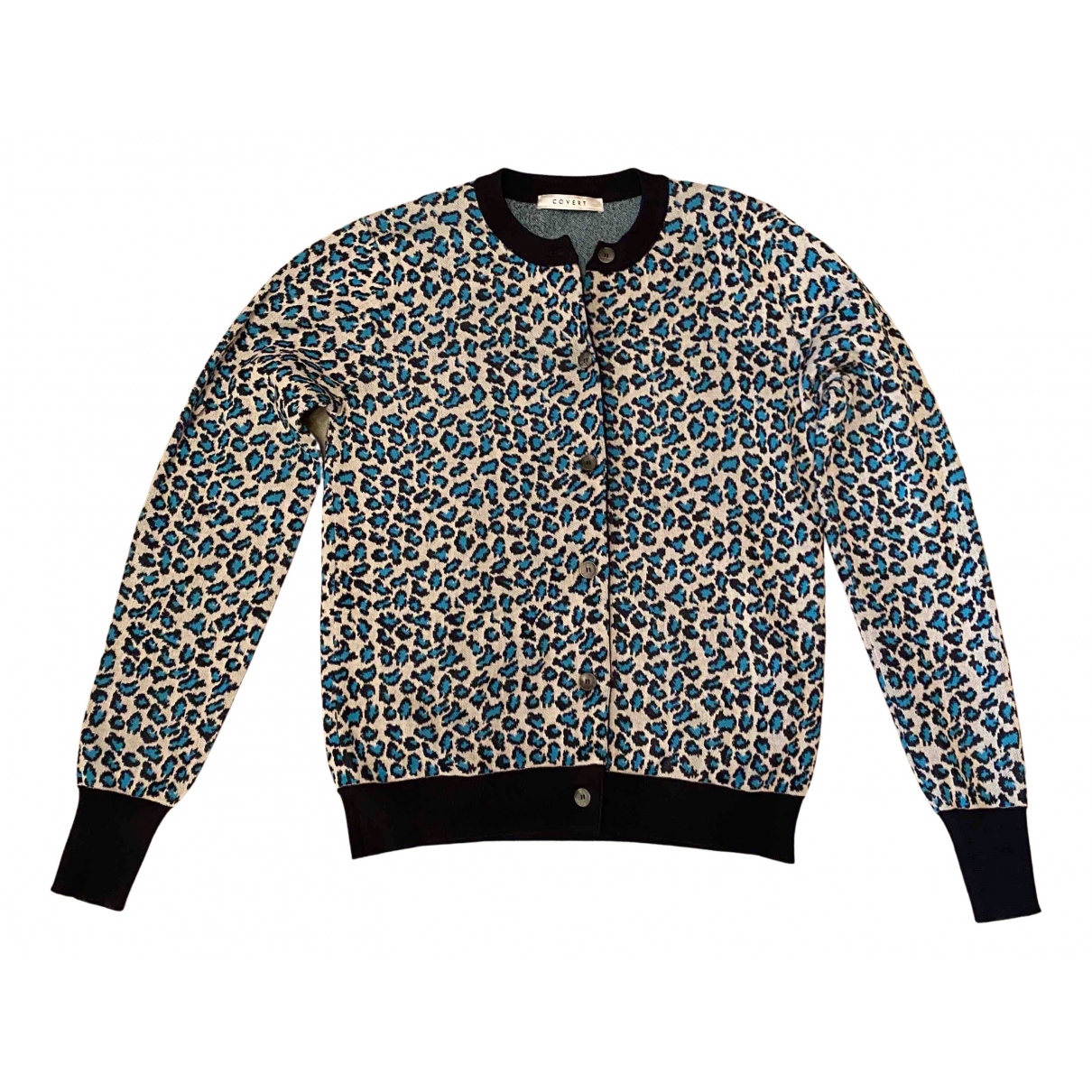 Non Signé / Unsigned N Multicolour Cotton Knitwear for Women One Size International