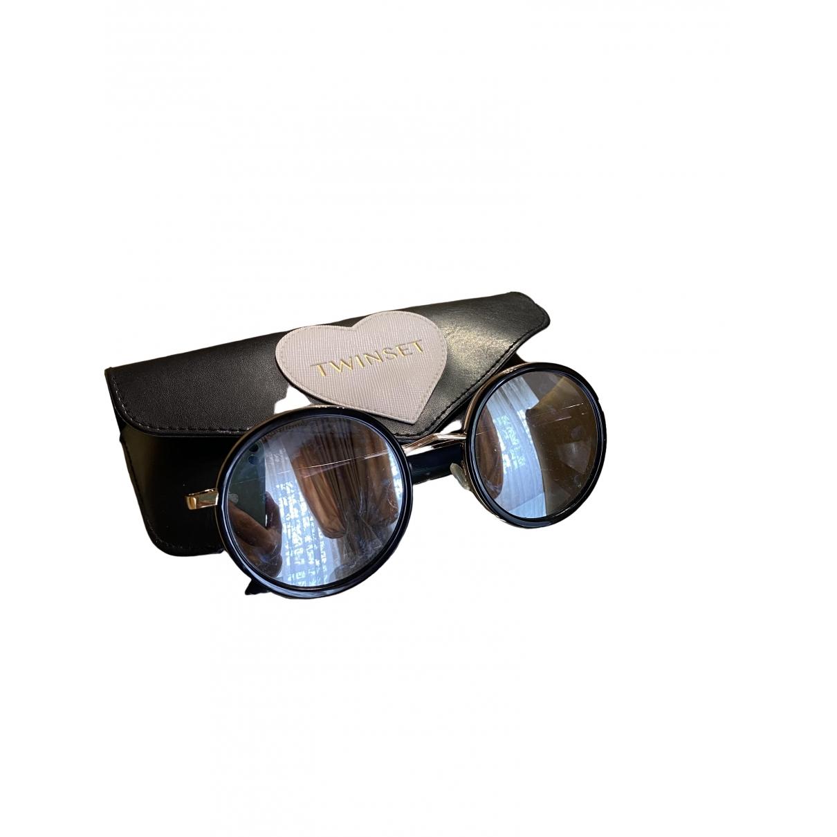 Twin Set \N Black Sunglasses for Women \N