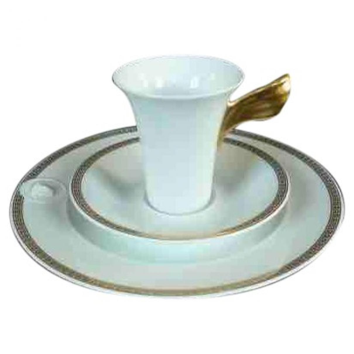 Versace \N Tischkultur in  Weiss Porzellan