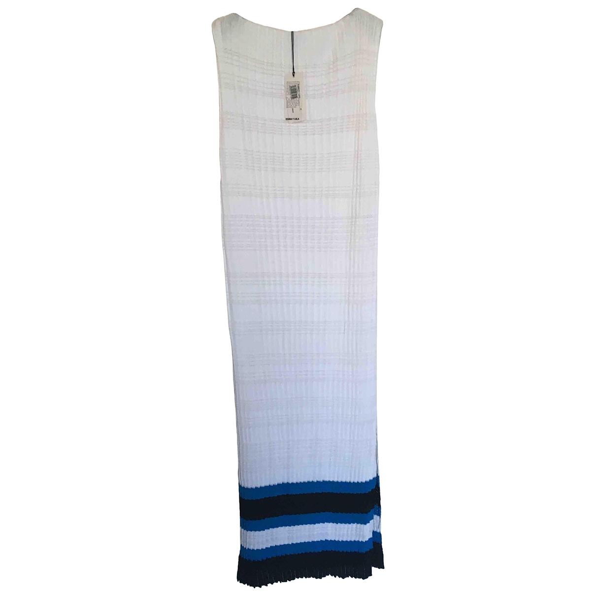 Bimba Y Lola \N White dress for Women M International
