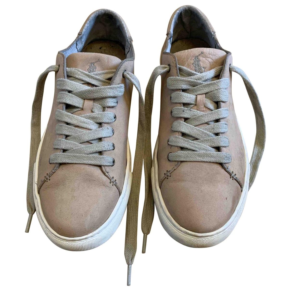 Polo Ralph Lauren \N Sneakers in  Braun Leder