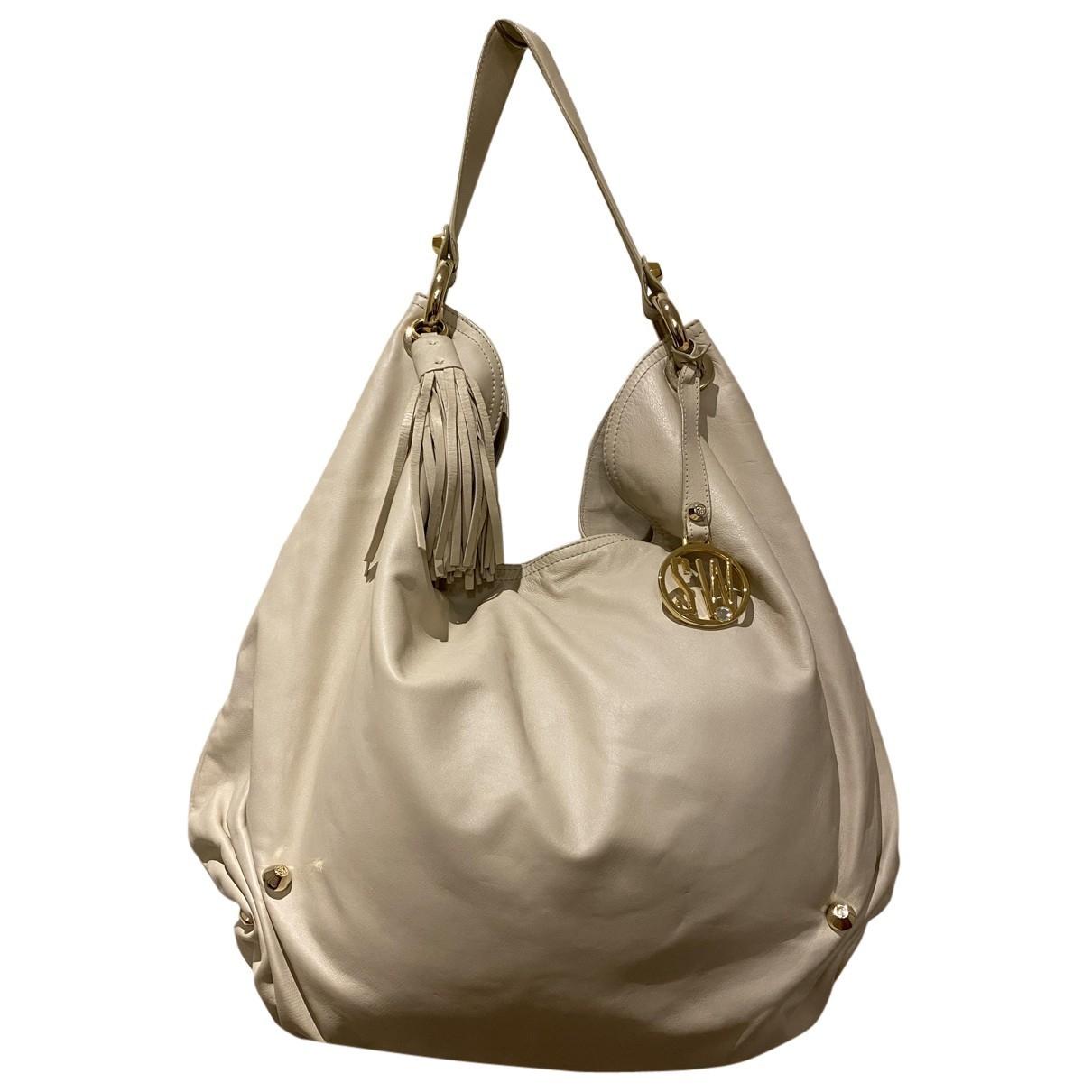 Stuart Weitzman N White Leather handbag for Women N
