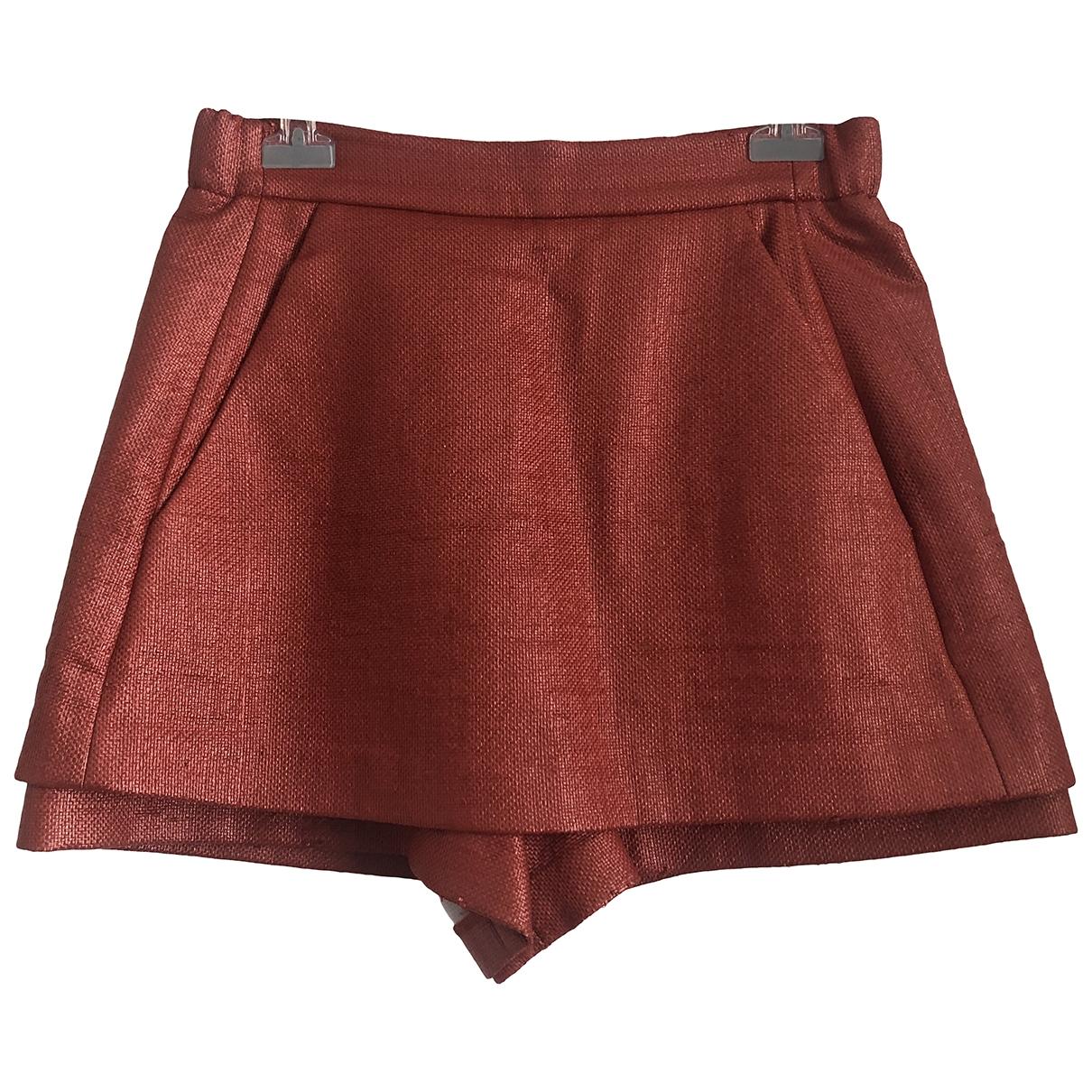 Maje \N Orange Shorts for Women M International