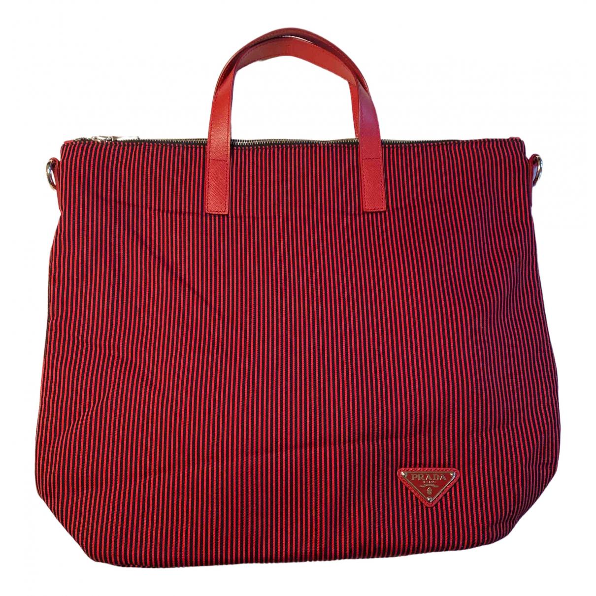 Prada N Red Cloth handbag for Women N