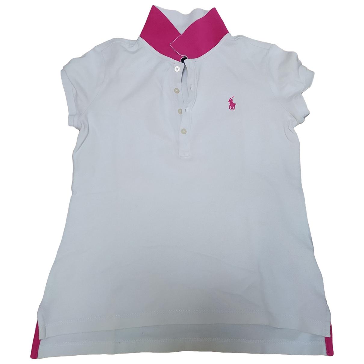 Camisetas en Algodon Blanco Ralph Lauren