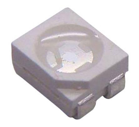Lite-On 2 V Green & Yellow LED PLCC 4 SMD,  LTST-E682KGKSWT (50)