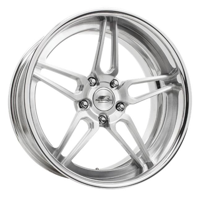 Billet Specialties MT65212Custom Razor Concave Shallow Wheel 20x12